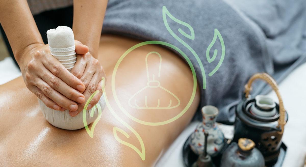 Kräuterstempel Massage 120 min