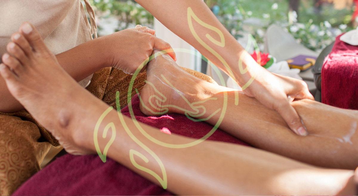 Thailändische Fußmassage 30 min